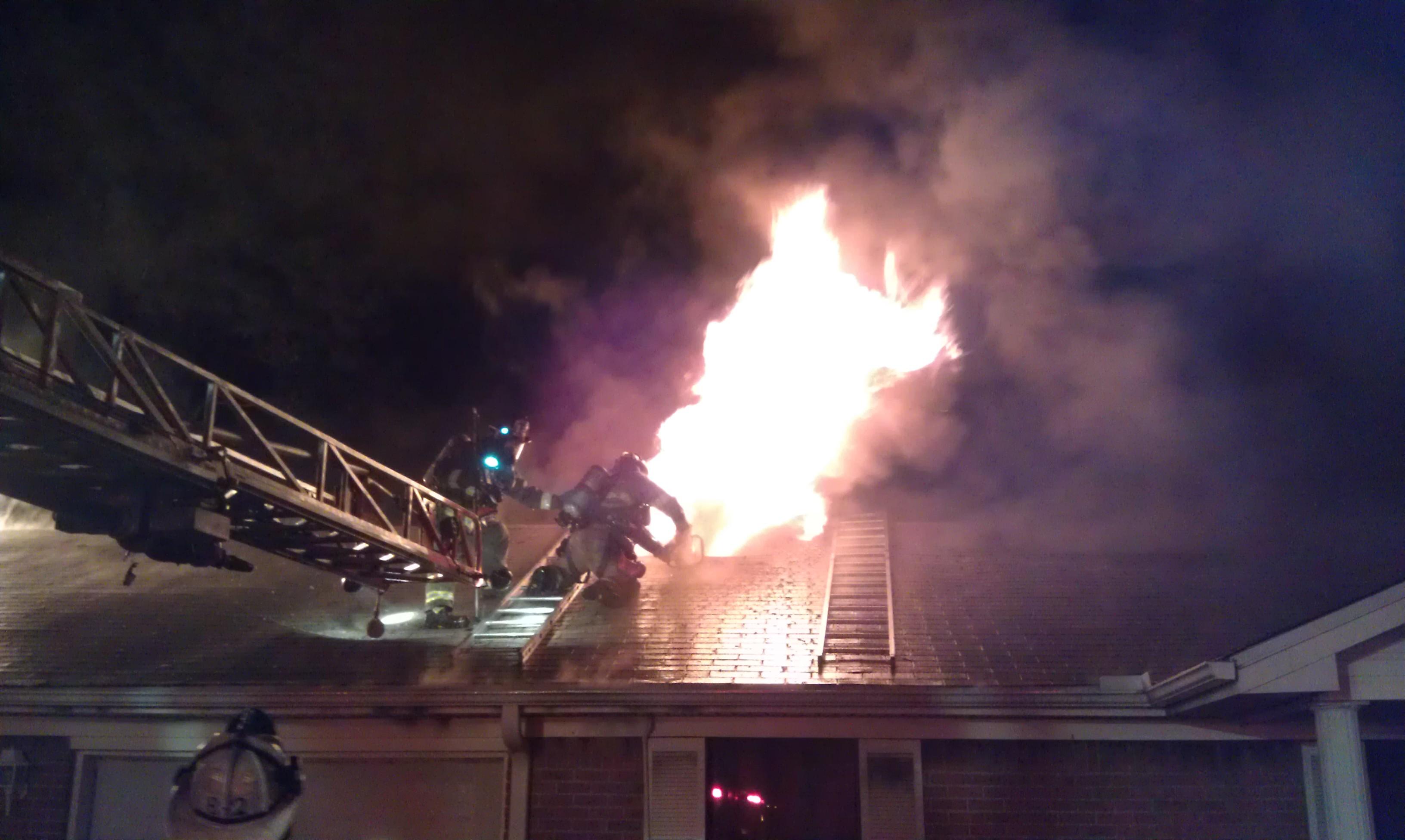 Fire Scene Photos