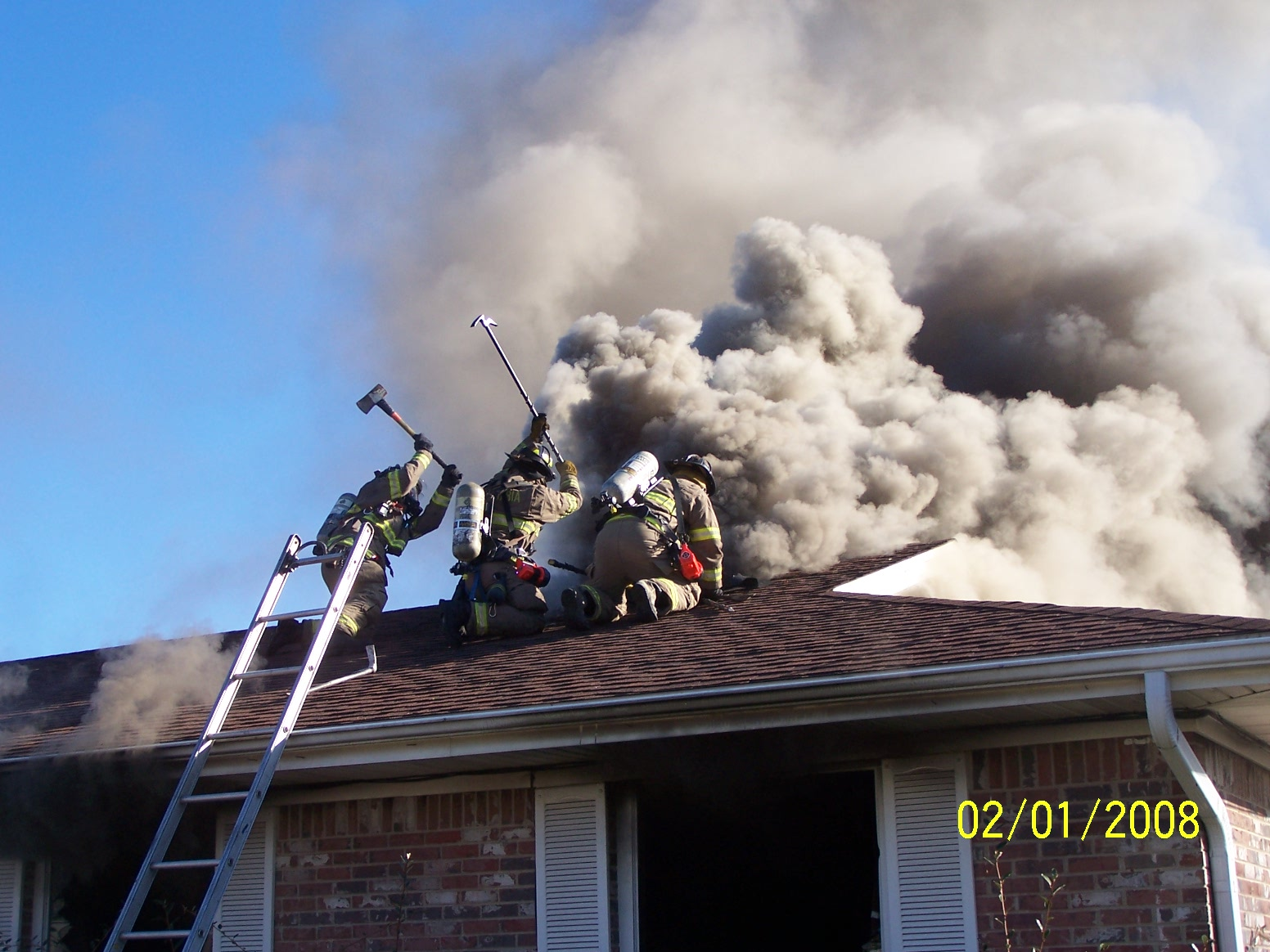 Roof Operations And Operating Off Ladders