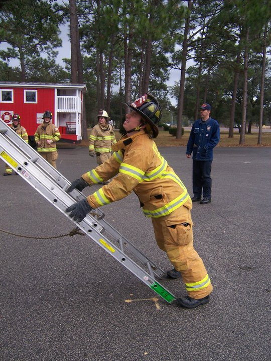 How do you foot the ladder and why? What angle does your FD place ground ladders?