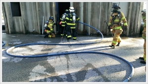 Although hard to tell by looking at pictures but the kink factor was decreased significantly. Notice the nice stiff bends in the hose in comparison to the pictures of the 2 ½ hose.