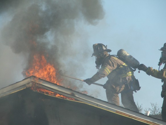Lakeview Fire Fire venting