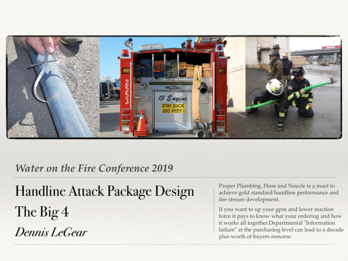 Handline Attack Package Design